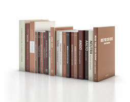 3d architecture and design books with modifiable colours
