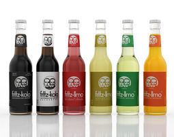 3d model fritz soft drinks