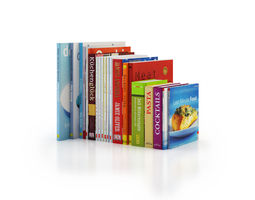 3D model Cookery Books