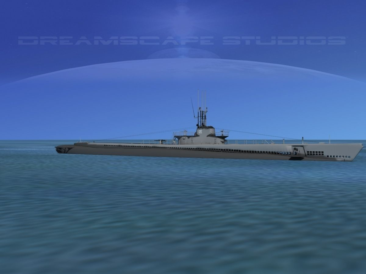 Balao Class Submarine SS297 USS Ling VHP