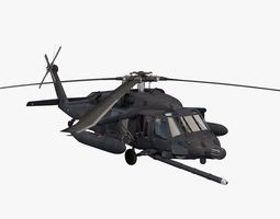 uh-60 blackhawk soar 3d model