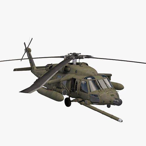 uh-60 blackhawk us army 3d model obj 3ds fbx c4d dae mtl 1