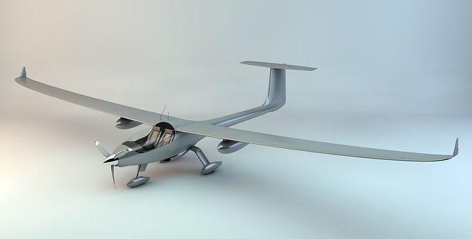 stemme s15 power glider 3d model max obj 3ds fbx c4d skp 1