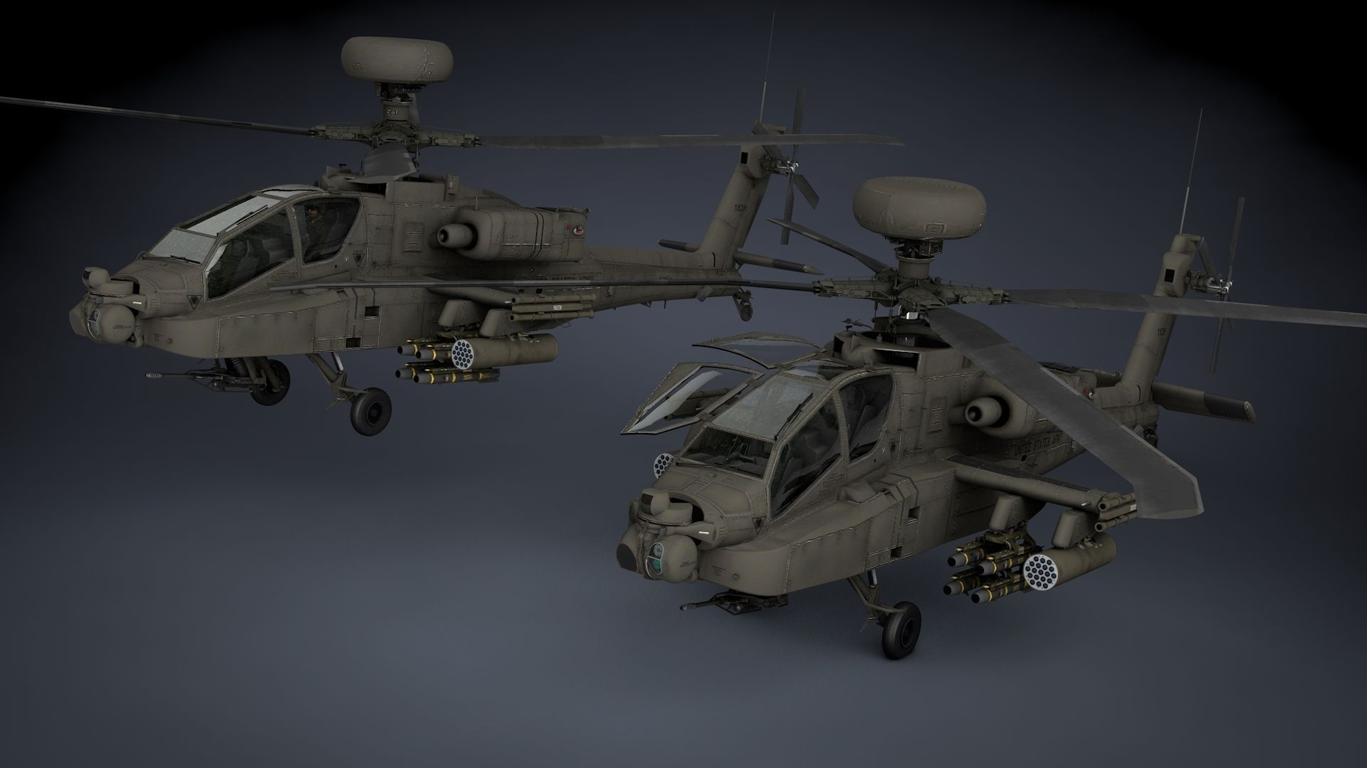 Boeing AH-64D Apache Longbow Helicopter