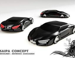 3D concept car 2