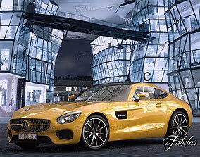 3D model Mercedes AMG GT std mat