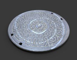 3d model bell system utility cover
