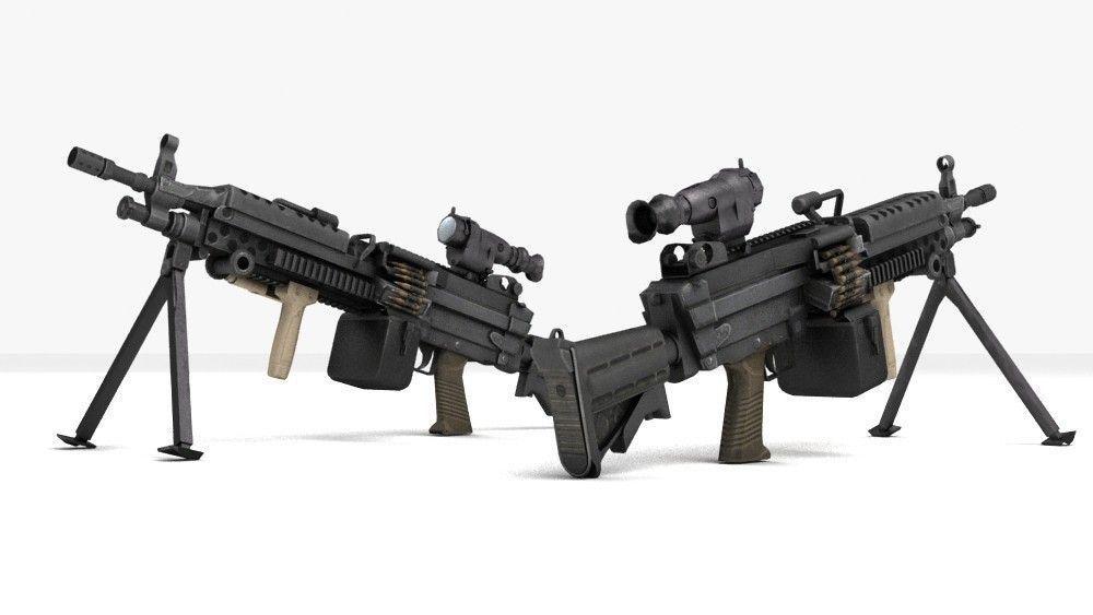 M249 Light Machinegun ...