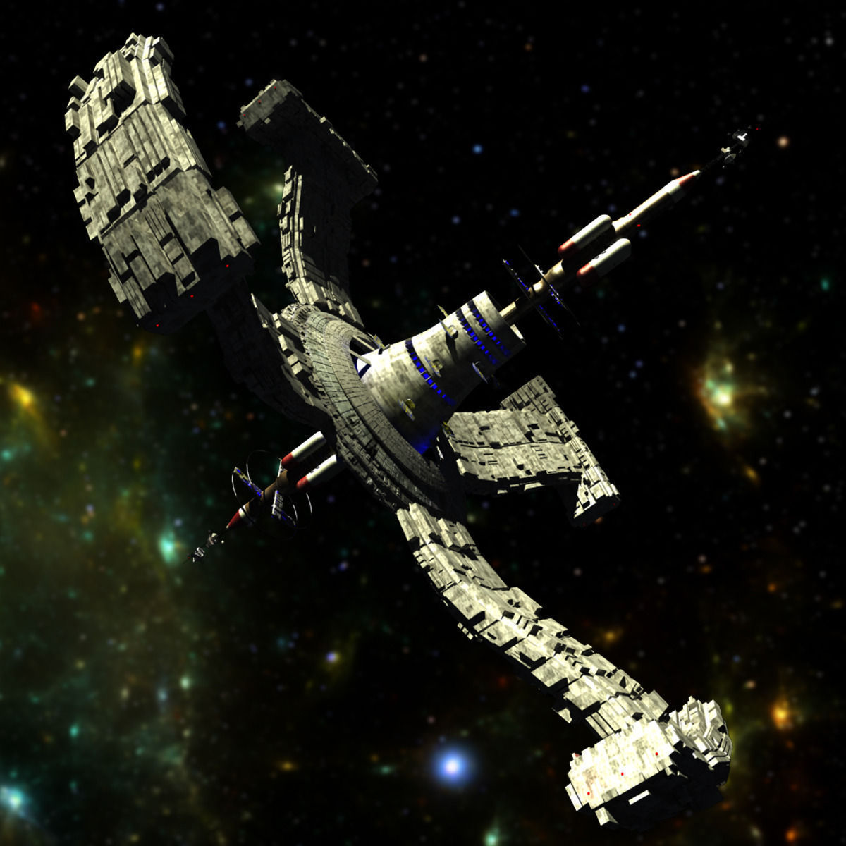 space station 3d models - photo #14