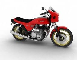 3D Benelli 900 Sei 1984