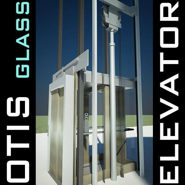 Elevator Lift 3D Model produced by OTIS | 3D model