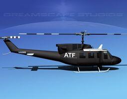 Bell 212 ATF 3D Model