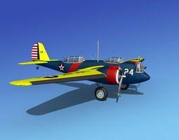 Martin B-10 V03 USAAC 3D