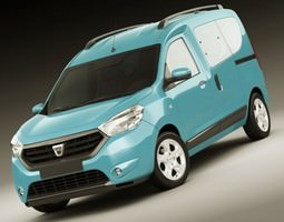 Dacia Dokker and Dokker Van 3D model