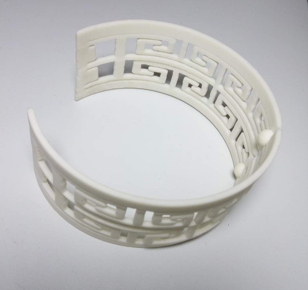 mayan bracelet 3d model 3d printable stl