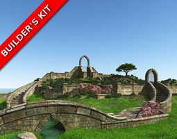3D English Garden Masonry Builders Kit
