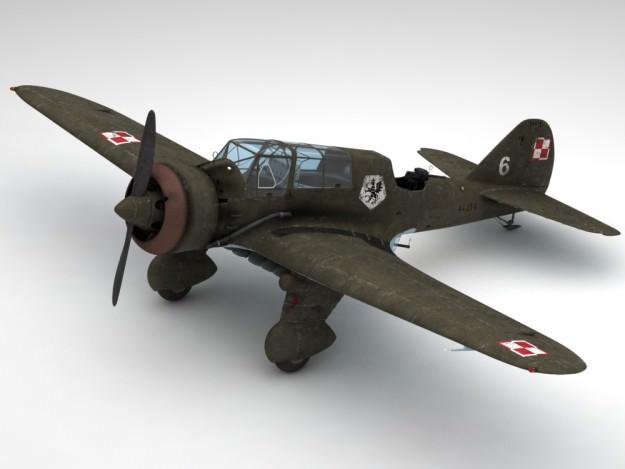 Pzl 23 Karas light bomber