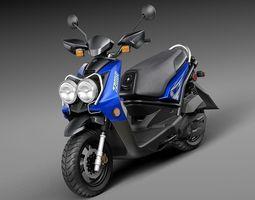 Yamaha Zuma 125 Scooter 2014 3D Model