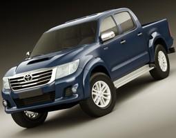 Toyota Hilux 2012 Double Cab 3D