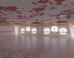 3D Laboratory hall