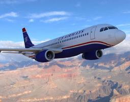 3D asset Airbus A-320