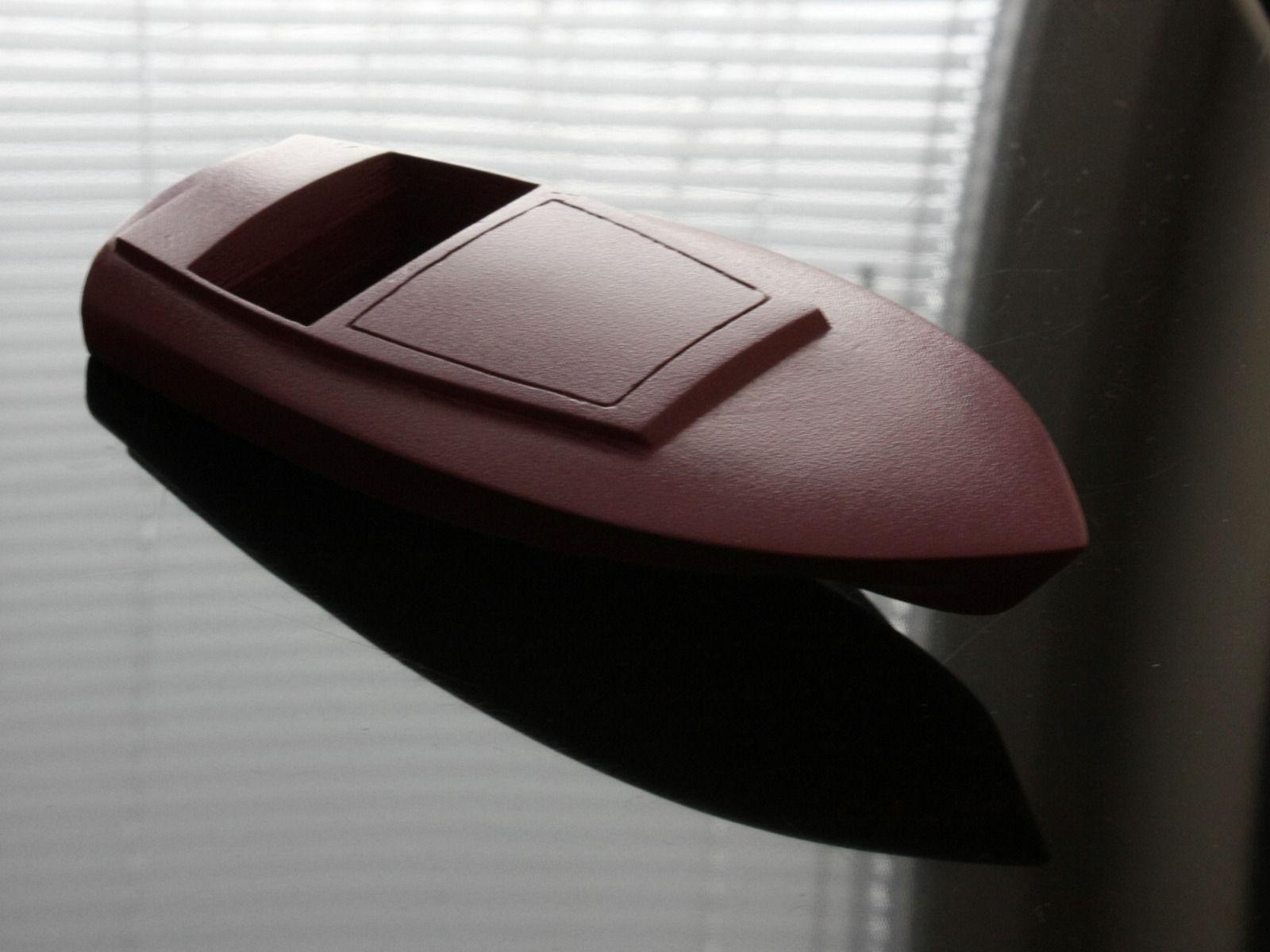 Glen-L Gentry motorboat scale model