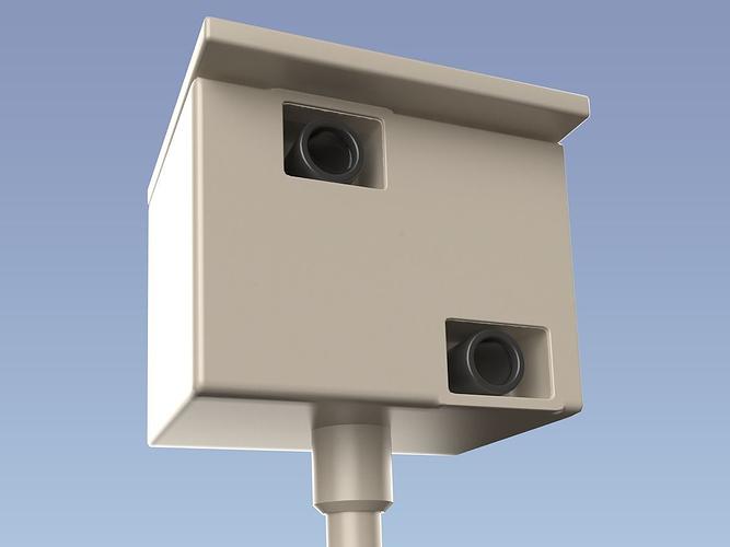 speed camera 3d model obj mtl 1