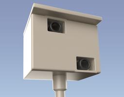 Speed camera 3D Model