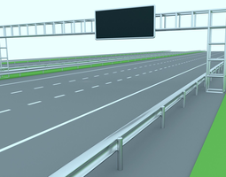 3D asset Freeway or Highway
