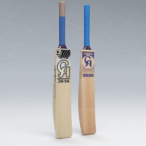 cricket bat ca 3d model max obj 3ds fbx c4d lwo lw lws 1