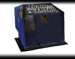 3D team otter blue house