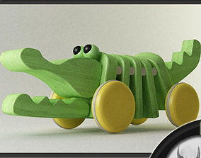 Toy Crocodile 3D