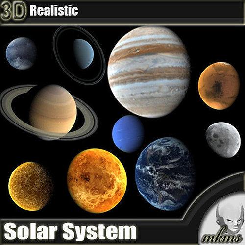 solar system 3d pluot - photo #21