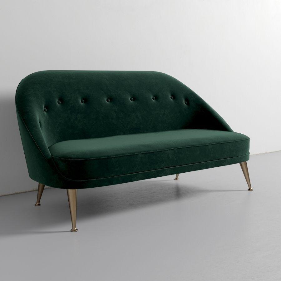 Brabbu malay 2 seat sofa 3d model max obj fbx mtl for Divan furniture models