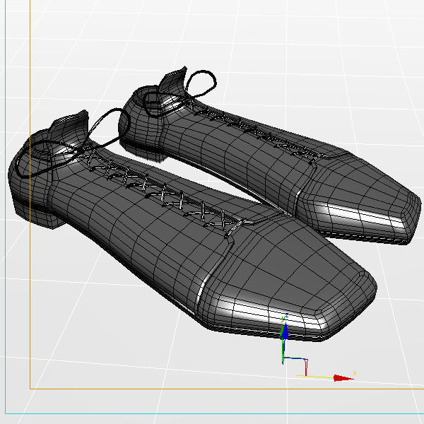 3d shoes cartoon cgtrader