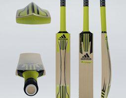 Cricket Bat Adidas 3D Model