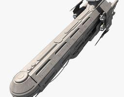 mcarrier 3d model