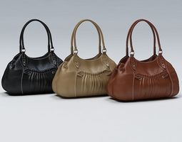 3D model Ladies Hand Bag 01