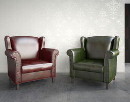 3D model ClassicArmchair