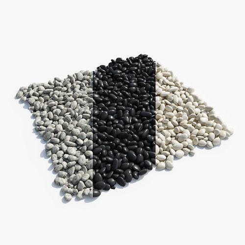 pebbles 3d model max obj mtl 3ds fbx c4d hrc xsi 1