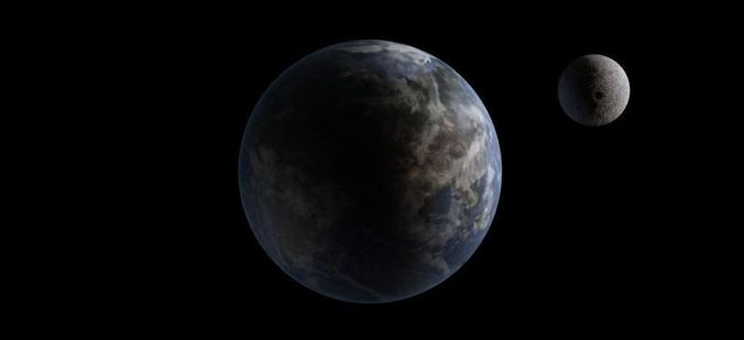 nine planet solar system 3d - photo #47