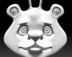 Keychain Bear 3D printable model