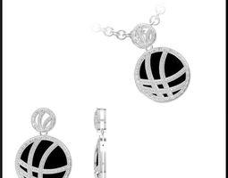3d diamond necklace 71