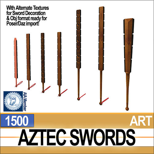 Macuahuitl Aztec Weapon