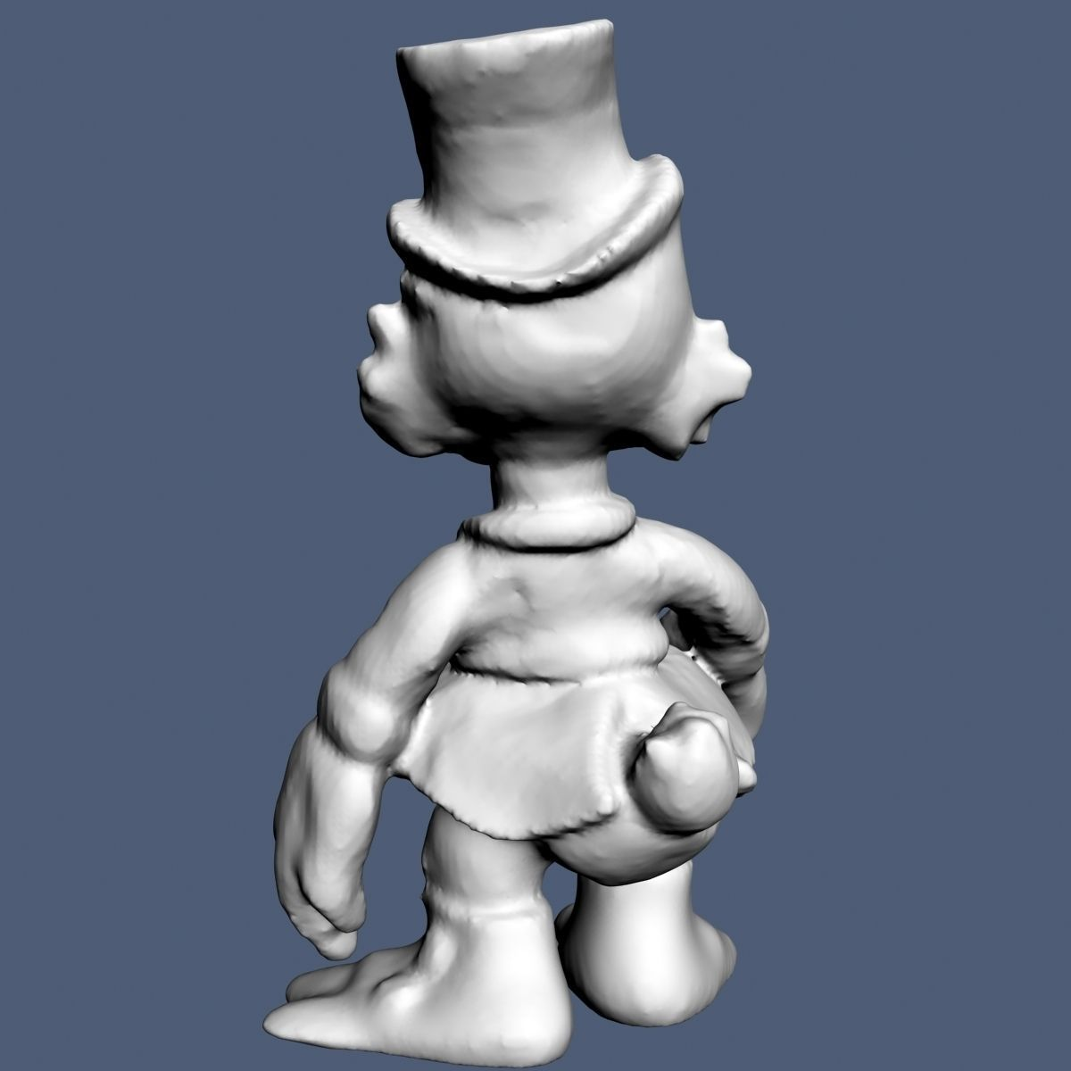 Uncle Scrooge Free 3d Model 3d Printable Stl