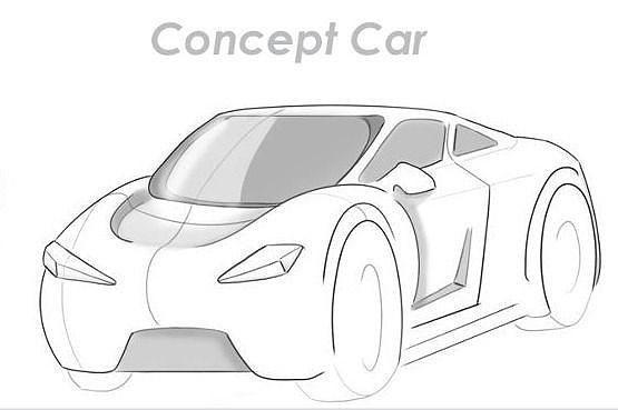 car rc protype 3d model ma mb 1
