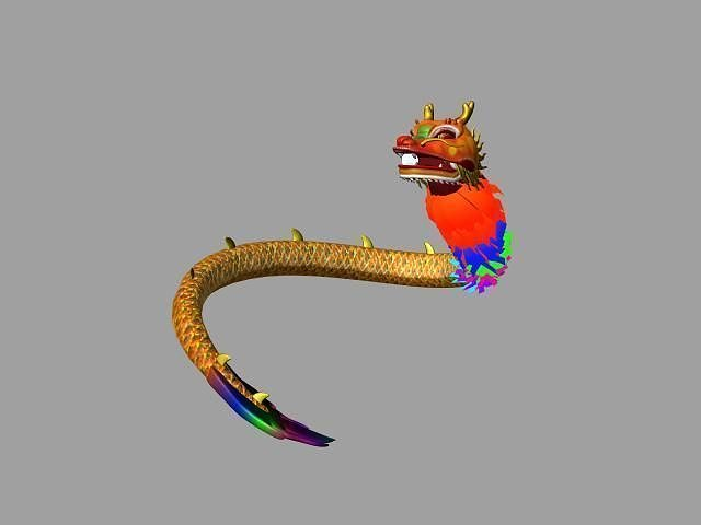chinese dragon 3d model - photo #38