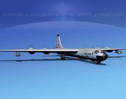 3D Convair B-36G Peacemaker V06