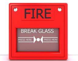 3D model fire alarm