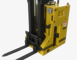 3D asset Automated Guided Vehicle